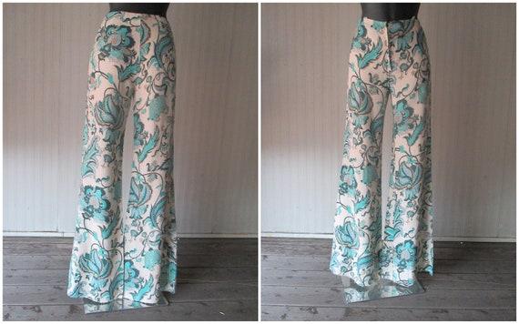 Original 60s damask pants suit/Jane Lend-Paris/Co… - image 9