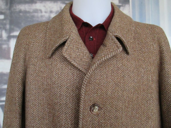 Deadstock 80s herringbone suitMade in Italy by IssimoPure new woolSize XLAbito uomo anni 80Spina di pescePura lana vergineTg XL