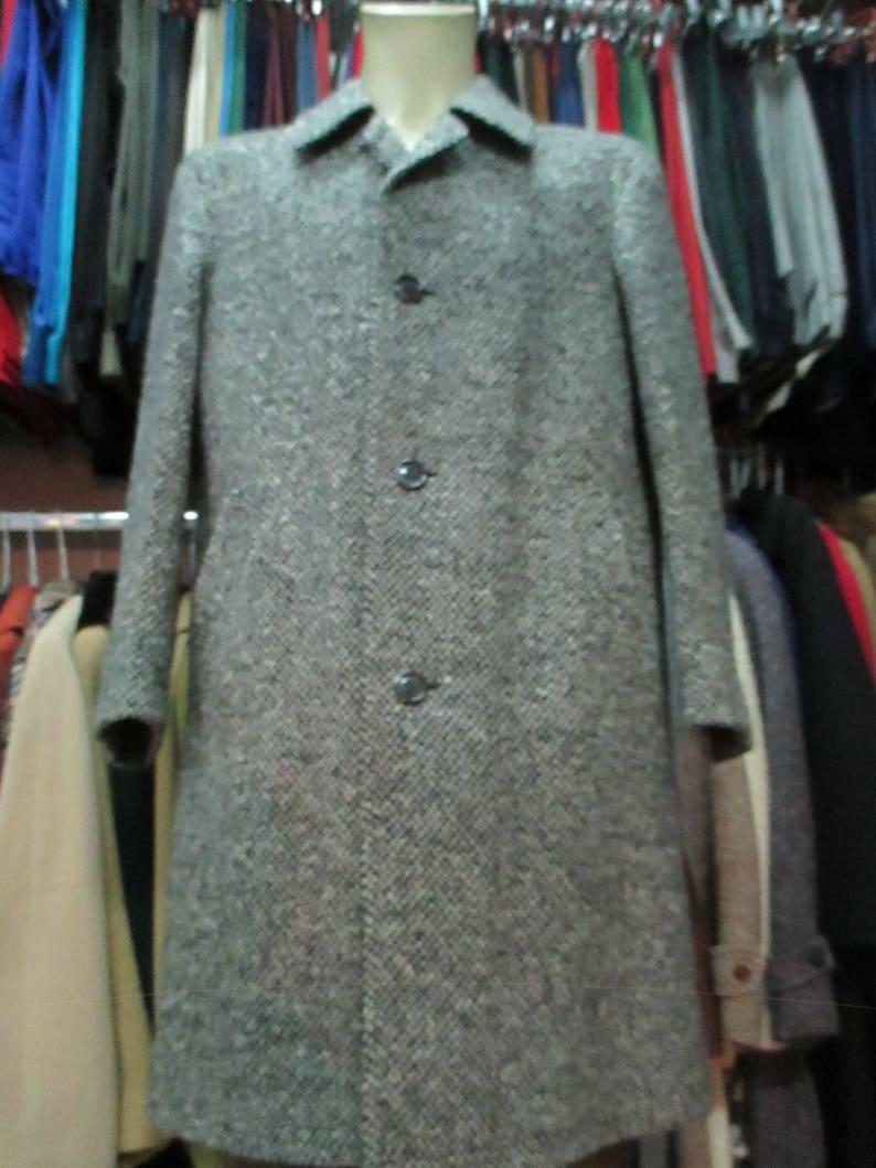 Cappotto spigato Moessmer anni 60.Tweed.Tg.50 Gorgeous 60s  7dbce81576c