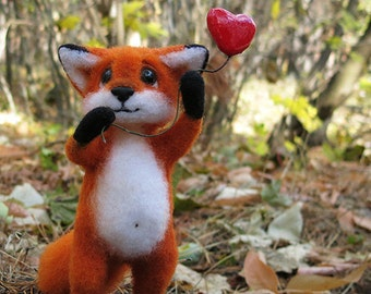 Rudolf the fox  - S O L D -