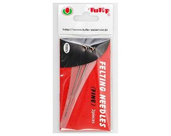 Tulip fine felting needle. Replacement Felting Needles by Tulip