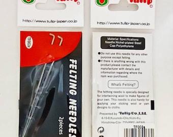 Tulip felting needle. Replacement Felting Needles by Tulip Standart size