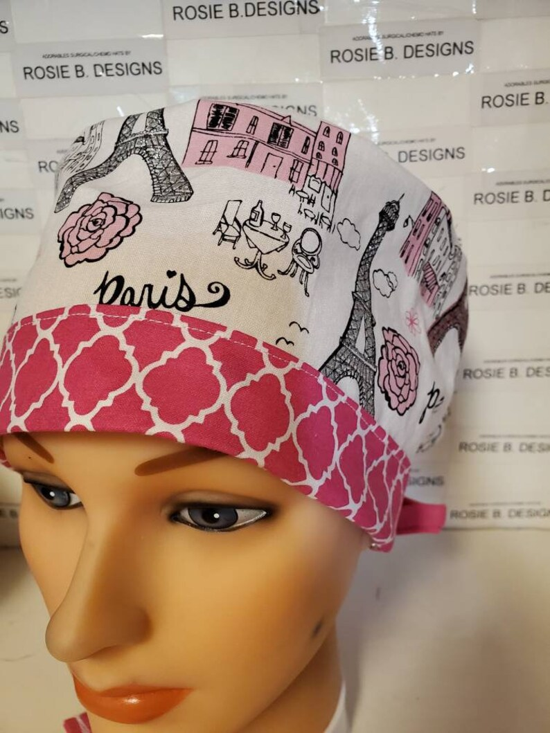 Dr/'s  medical staffscrubcapponytail Parispixie  Euro hat Rn/'s