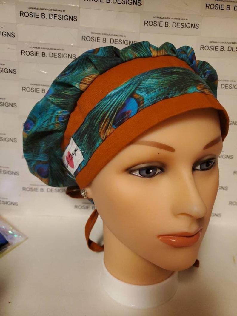 PEACOCK bouffantscrubsurgical hatcap