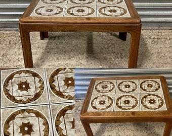 G Plan Long John Tiled Coffee Table Mid 1970's, By Leslie Dandy