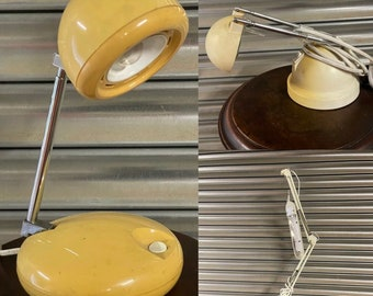 Three Vintage Retro Anglepoise Type Lamps
