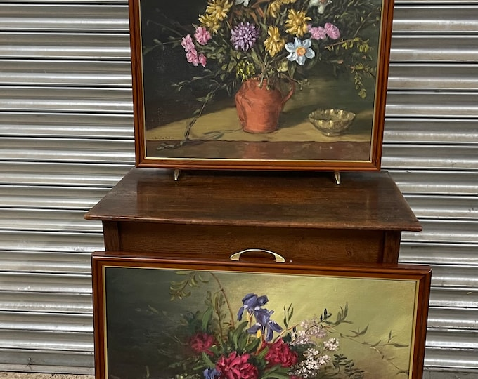 These Are Beautuful! Still Life Oil Painting Fire Screens Interchangable