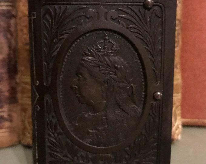 19th Century Queen Victoria In Memoriam Vesta Case