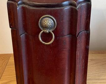 Antique circa Late 19th Century Cutlery Knife Box