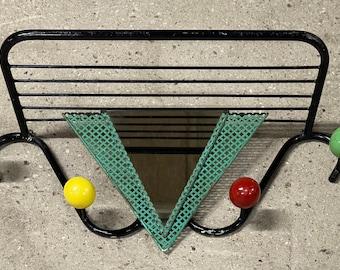 Rare Atomic Space Age Sputnik 1950's Roger Feraud French Design Coat & Hat Rack