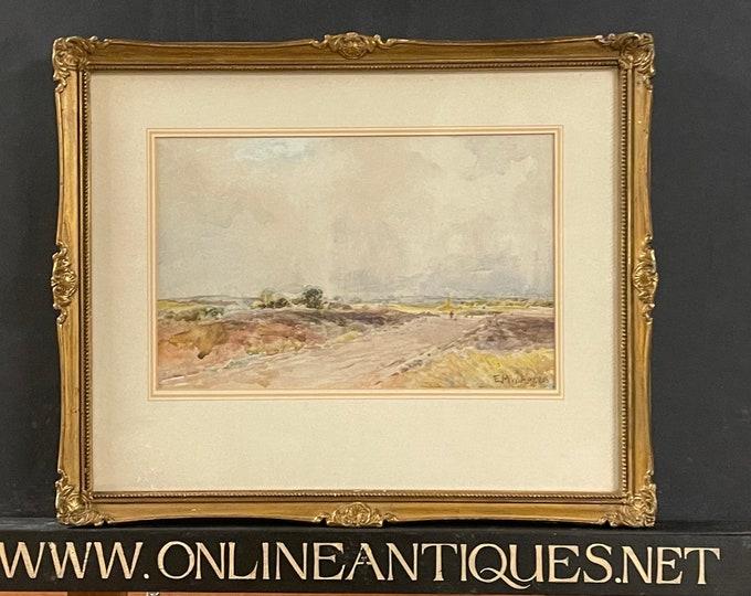 Original 19th Edmund Morison Wimperis Landscape Watercolour