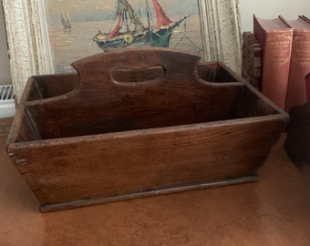 Lovely Antique Early 19th Century Cutlery Tray