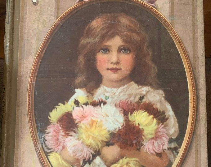 Antique Book - Titled 'Sunday' Reading For The Young 1906 With Beautiful Illustrations