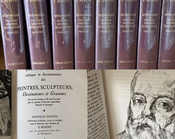 E Benezit Dictionannaire Des Peintres, Sculpteurs, Dessinateurs Et Graveurs 1966