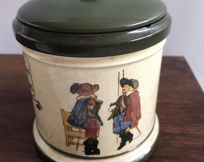 Rare Royal Doulton Tobacco Jar Serial Number D3051