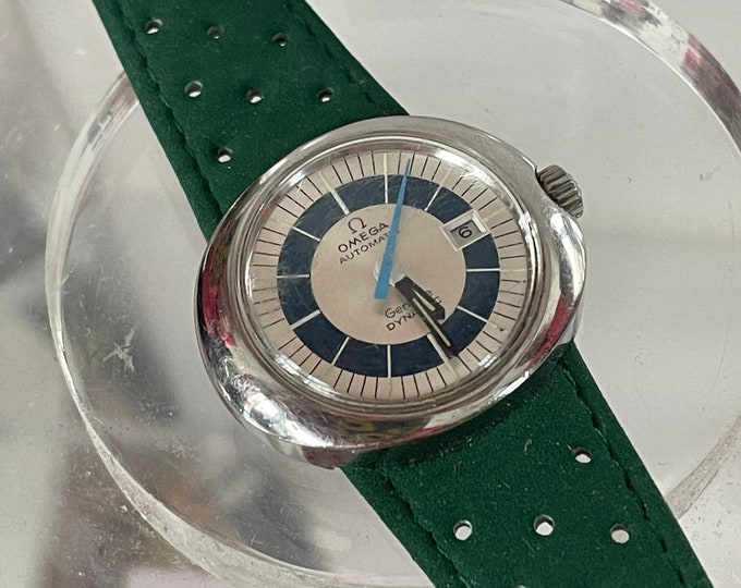 Vintage Stylish Ladies Omega Geneve Dynamic Automatic Watch With Original Strap - Made circa 1968
