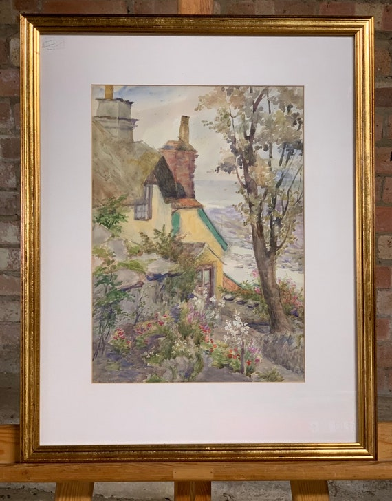 Original Early 20th Century Watercolour By Agnes E Foreman