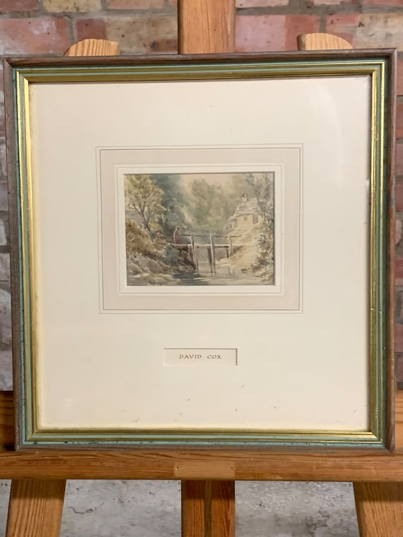 Charming Small Watercolour in the manner of David Cox