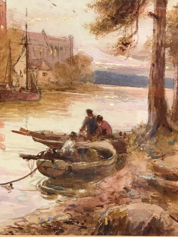 Fabulous Stuart Lloyd Gilt Framed Watercolour Watercolour - 1875-1929