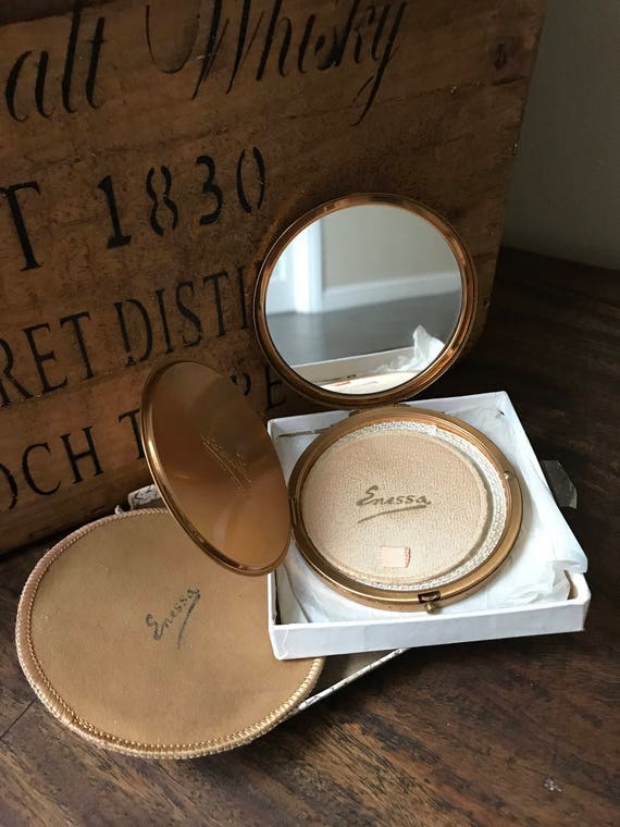Vintage Stratton, Enessa New Light Makeup Powder Compacts (4 In Total)