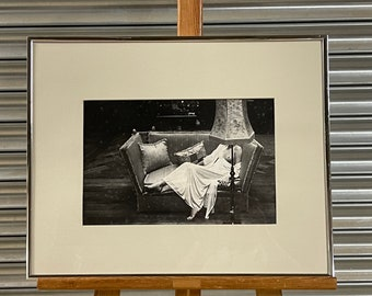 Original Framed & Glazed Photograph By John Hedgecoe From The Book 'Possessions'.