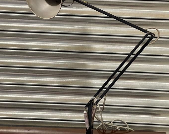 c1950's Original 1227 Herbert Terry Black Anglepoise Lamp