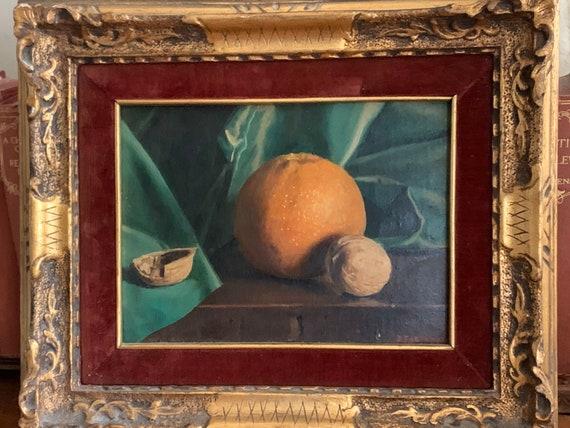 Wonderful Still Life Oil Painting By The Italian Artist P Fortunato