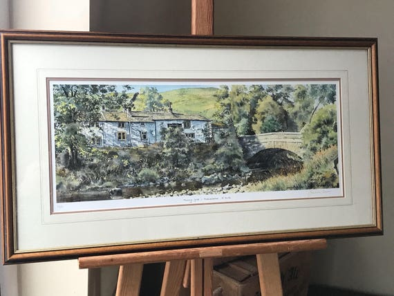 Limited Edition Print 'Morning Light' Hubberholme, Yorkshire, By Graham Carver