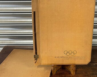 In Memory Of The IV Olympic Winter Games In Garmisch-Partenkirchen 1936 Book