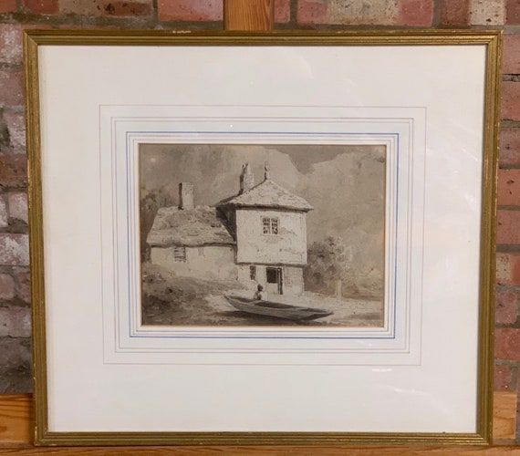 Original Early 19th Century Watercolour By Samuel Prout One Of The Masters!!