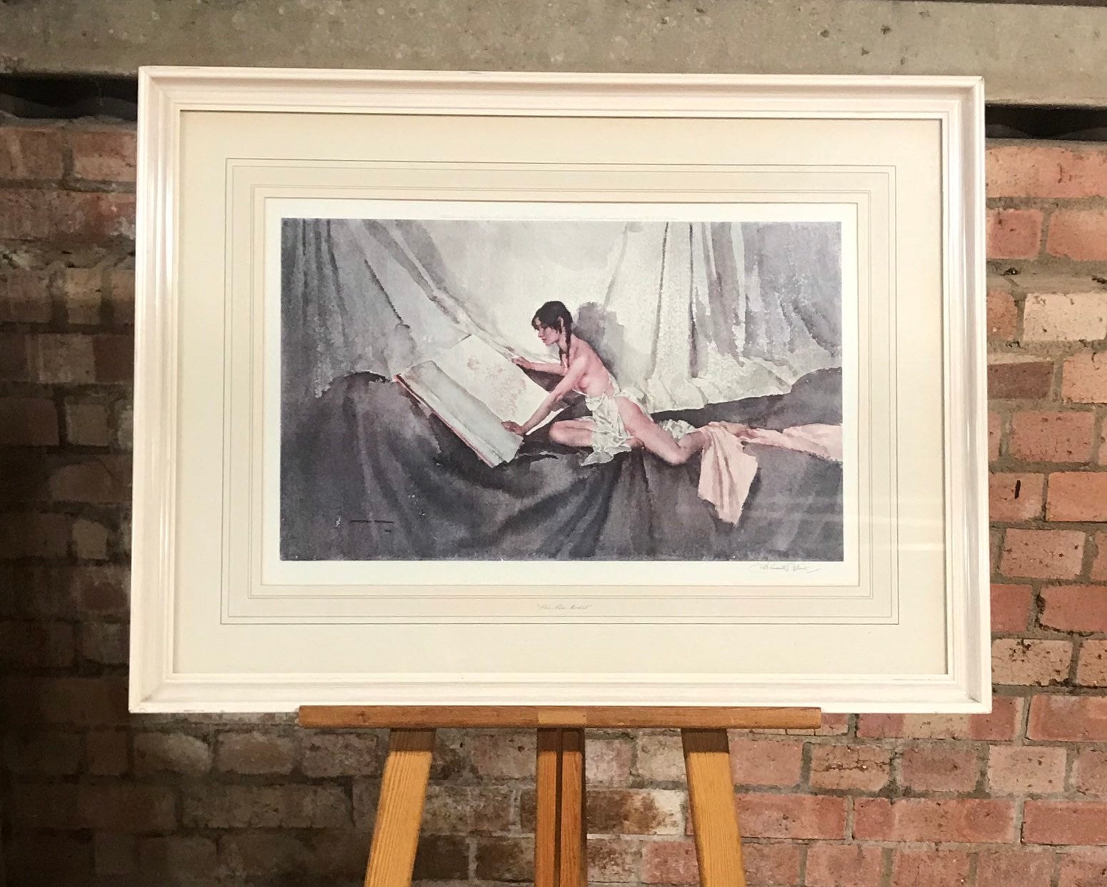 Lovely Sir William Russell Flint Nude Limited Edition of