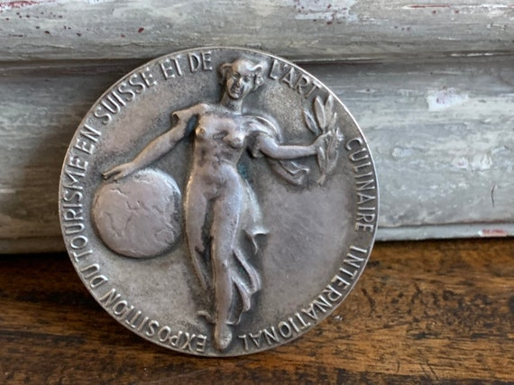 Berne Switzerland 1954 Medallion Presented At The Hospes Exposition