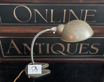 Original Vintage 'Goose Neck' Lamp By Hawkins Of Drury Lane