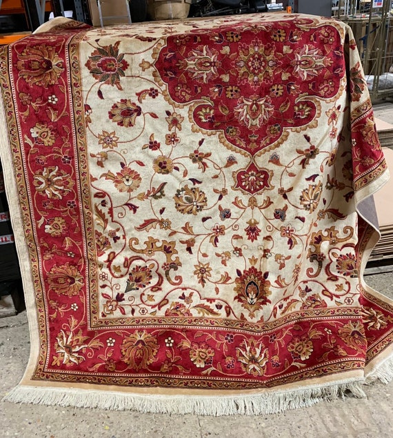 Fabulous Large Contemporary Floral Kershan Rug