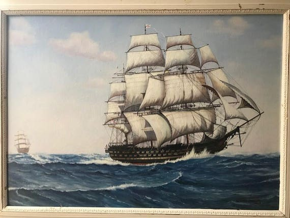 Wonderful Dion Pears  Seascape Oil Painting on Canvas
