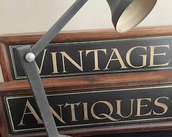 Original Vintage 1930's Cornercroft Wandalite Industrial Anglepoise Light