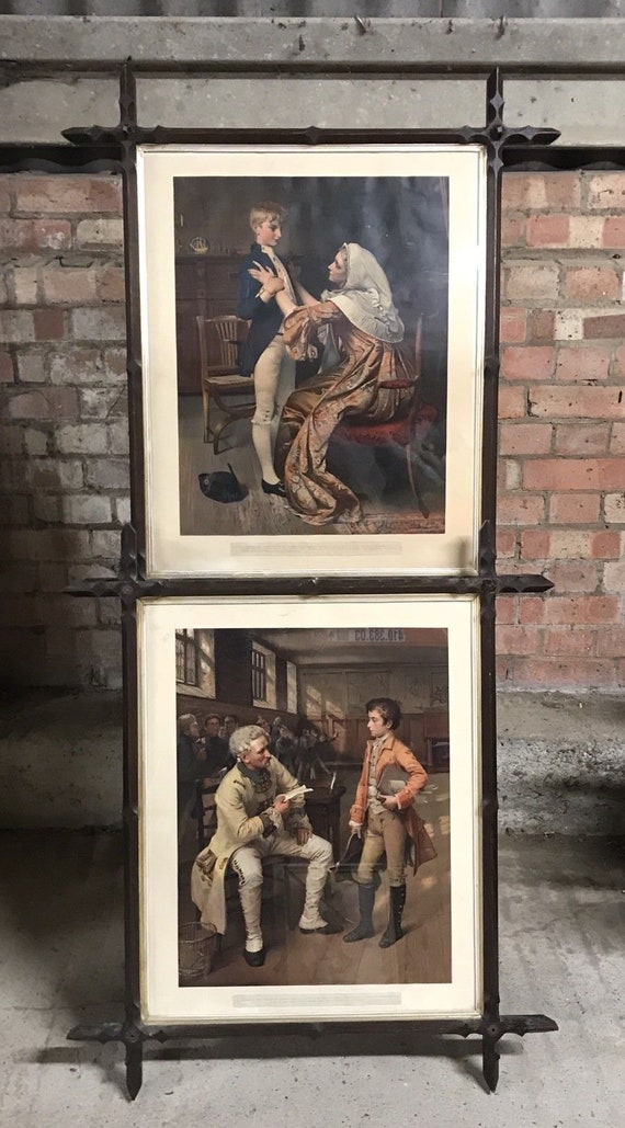 Pair Of 19th Century George Joy Hand Coloured Engravings Of Lord Nelson & The Duke Of Wellington