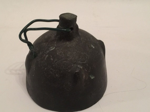 Antique Chinese Bronze Cow Bell
