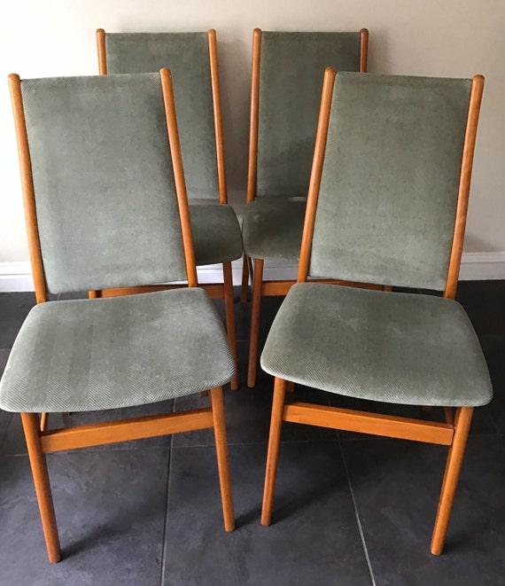Wonderful Original Set Of Danish1960's Farstrup Dining Chairs