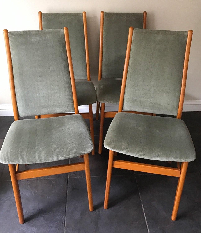 Terrific Wonderful Original Set Of Danish1960S Farstrup Dining Chairs Squirreltailoven Fun Painted Chair Ideas Images Squirreltailovenorg