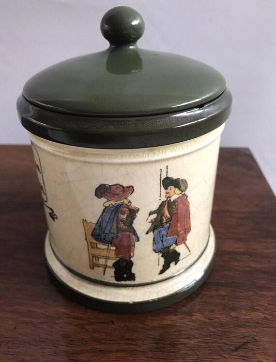 Rare Royal Doulton Tobacco Jar Serial Number D3051
