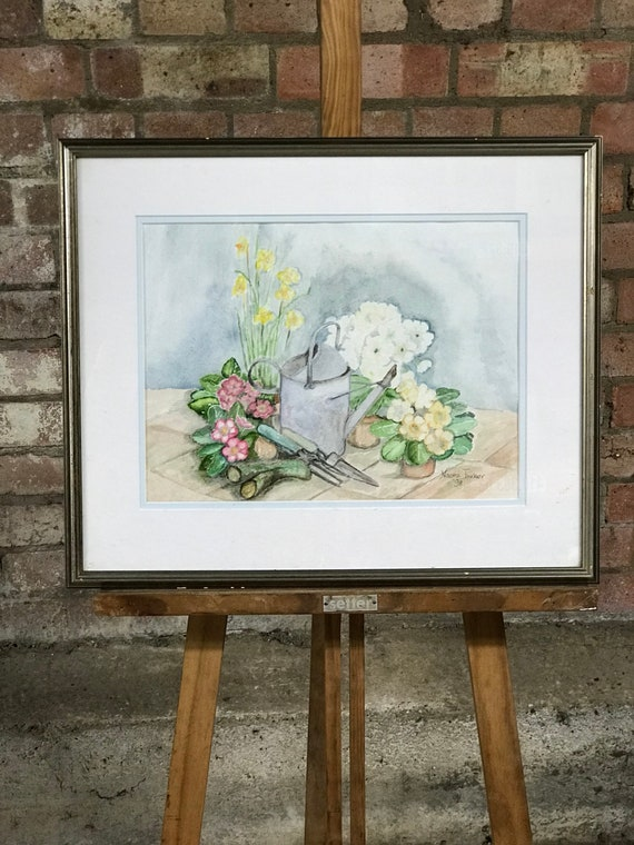 Lovely Original Still Life Watercolour By Naomi Turner 1998