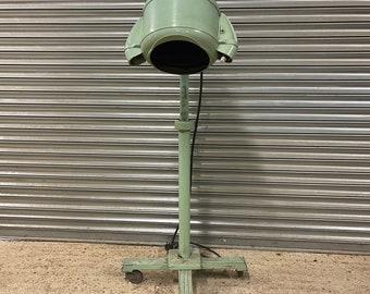 Art Deco 1930's Martin Bros Turbinator Jet Engine Design Industrial Hair Dryer