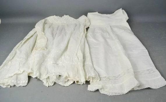 Original 19th Century Victorian Vintage Children's Dress / Clothing / Christening Gown