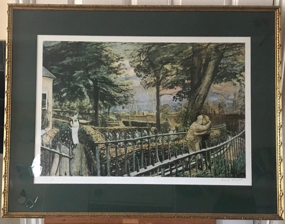 Artists Proof Framed Print, The Prodigal Son, Signed By The Artist Carel Weight Limited Edition 25/29