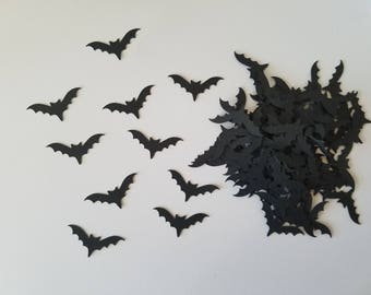 Bat Confetti - Set of 100 - Halloween Confetti - Party Decor