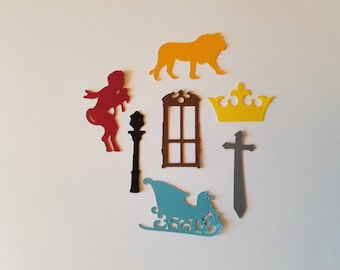 Narnia Confetti - Set of 140 -Chronicles of Narnia - The Lion, The Witch and the Wardrobe - C.S. Lewis - Narnia Party - Party Decor