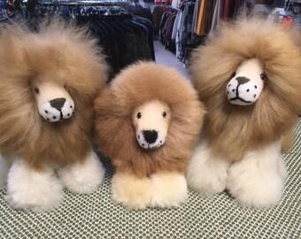 Fox Wire Farm 100% Baby Alpaca Lion