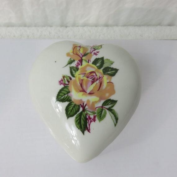 cool vintage mid century 1950s 1960s ornate EMBOSSED floral rose TRINKET JEWELRY box
