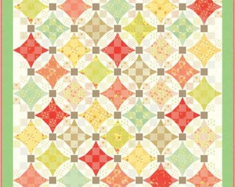 Ella & Ollie Quilt Kit by Fig Tree and Co. Moda Fabrics